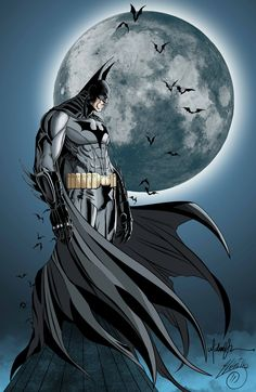 Batman - Pencils by Michael Turner, Inks/Colors by Adrian Castillo