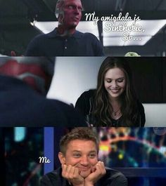 My reaction  exactly... I was like 'Oh Vision, you adorable, adorable flirt!!' Love these two!!!
