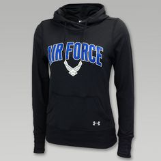 Under Armour Air Force Womens Logo Hood
