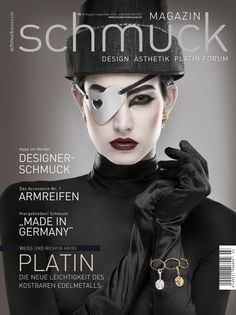 Schmuckmagazin by Catherine Ebser, via Behance Editorial Shooting for Schmuckmagazin Concept/Styling/Retouch: Catherine Ebser Photographer: Stefan Gergely Schmuck Design, Mistress, Editorial, Behance, Magazine Covers, Movie Posters, Movies, Concept, Accessories