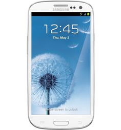 Samsung-Galaxy-S-III-Marble-White-32GB Phone | T-Mobile