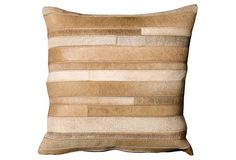 Mina Victory Natural Leather and Hide Beige Throw Pillow x by . Mina Victory Natural Leather and Hide Beige Throw Pillow x by Nourison. Leather Throw Pillows, Leather Pillow, Modern Throw Pillows, Decorative Throw Pillows, Floor Pillows, Accent Pillows, Beige Throws, Family Room Walls, Leather Pieces