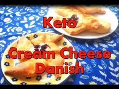 FAT HEAD CREAM CHEESE DANISH – Low Carb, Keto, Gluten Free Who said you can't have fancy-looking danish on keto? I saw someone making danish braid using fat head dough several mo… Raspberry Recipes Low Carb, Low Carb Recipes, Cheese Burger, Keto Cheese, Fat Head Recipes, Fat Head Dough, Cream Cheese Danish, Keto Cream, Low Carb Sweets