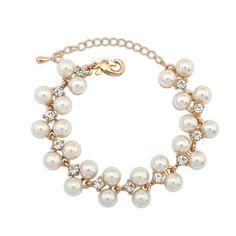 ABS Plastic Pearl Bracelet
