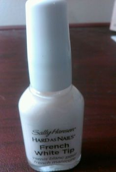 Sally Hansen Hard As Nails French White Tip Nail Polish #SallyHansen