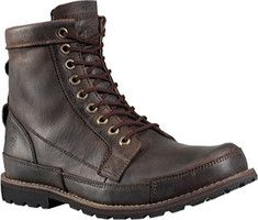 The inspiration behind our new Earthkeepers boot is borne out of our desire to create an original, outdoor-tested boot with a smaller environmental footprint than other boots. Here they are - Timberland durability and lightweight versatility - the lining is made of recycled materials, the outsole is