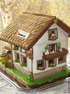 Photo of a Gingerbread house