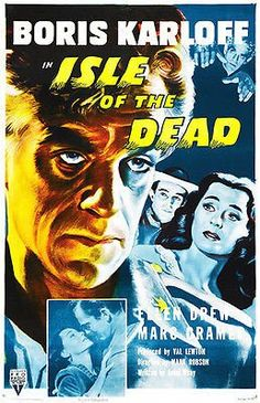 Isle of the Dead - 1945 - Movie Poster