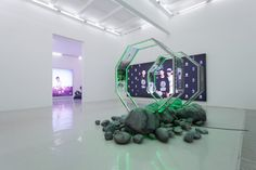 Timur Si-Qin — Biogenic Mineral – Solo exhibition at Magician Space, Beijing.