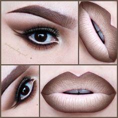 "☠ X†iNA  @depechegurl In a Nude Mood .....Instagram photo | Websta (Webstagram) Lips - @nyxcosmetics Wonder Pencils in Light, Medium, & Dark. NYX Light Brown Lip Liner & Brown Pencil Liner. Eyes - MAC Eyeshadows in Cork, Wedge, Vanilla, Brule, & Embark. ""Jasmine"" Mink Lashes by @five11_cosmetics I used my @kizmet brushes for the eyes and brows. Read more at http://websta.me/p/701097397246063020_222849955#Uc4fsej4yIybmI6R.99"