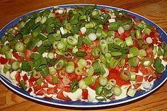Gyrossalat mit Tomaten
