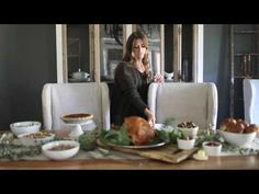 Tips for Setting your Thanksgiving Table - YouTube