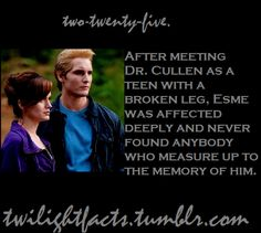 Hi! This blog is full of interesting facts all about the Twilight Saga books and movies we love....