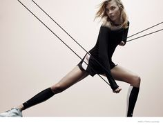 Nike x Pedro Lourenço–Activewear brand Nike is teaming up with Brazilian designer Pedro Lourenço for a line of activewear and shoes for modern women. Karlie Kloss was tapped as the campaign star in images that show her displayingher svelte physique in everything from neoprene jackets to sneakers with three clothing looks and two footwear options....[Read More]