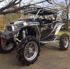 charcoal grey turbo! Ranger Atv, Rzr 1000 Turbo, Rzr Parts, Polaris Off Road, Atv Riding, Terrain Vehicle, Quad Bike, Four Wheelers, On The Road Again