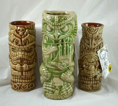 "Body Glove Tiki Mug set designed by Brad "" Tiki Shark "" Parker"