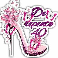 Bolo Da Peppa Pig, Cute Pins, 40th Birthday, Paper Piecing, Cupcake Toppers, Silhouette Cameo, Scrapbook Paper, Decoupage, Barbie
