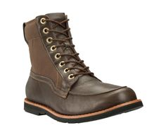 Men's Earthkeepers Rugged Canvas Panel Boot. Like these boots a lot!