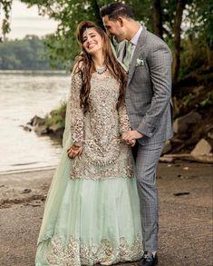 Repost @laraib_a💚 #pakistaniweddings #couple #bride #groom