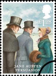 Jane Austen stamps 2013 ~ Persuasion