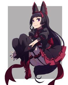 Gate, Rory Mercury, by tatakaeri Jieitai Kanochi nite, Kaku Tatakaeri Rory Mercury, Sailor Moon, Really Cool Drawings, Card Captor, Cartoon Sketches, Cute Anime Pics, Kawaii, Ecchi, Anime Animals