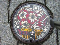 栃尾市 マンホール