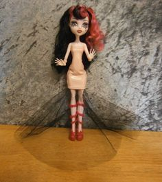 SPECIAL PRICE  Strapless dress  for monster high by moonsight68, $6.75