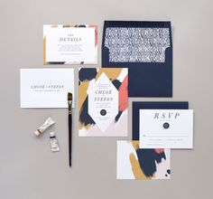 Chloé Wedding Invitation & Correspondence von rachelmarvincreative