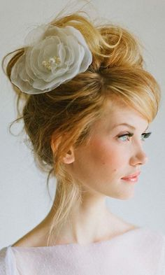Short Wedding Hairstyle Ideas So Good Youd Want To Cut Your Hair ❤ See more: http://www.weddingforward.com/wedding-hairstyle-ideas-for-short-hair/ #weddings
