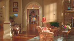 """The Stepford Wives, Bobbie Markowitz' home after the """"transformation"""". Everything looks like a TV commercial. Dream Home Design, My Dream Home, House Design, Set Design, Movie Set Decor, Wife Movies, Hollywood Homes, American Decor, Good Wife"""