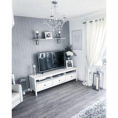 Henderson Interiors Chelsea Glitter Plain Textured Wallpaper Soft Grey Silver - Wallpaper from I Love Wallpaper UK