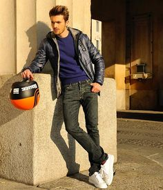 Get this look: http://lb.nu/look/7975218  More looks by Gian Maria Sainato: http://lb.nu/gian_maria_sainato  Items in this look:  Blauer, Blauer, Blauer, Blauer, Blauer   #casual #sporty #street