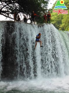 ATMEX - Adventure Travel Mexico.  Waterfall jumping at Micos Waterfalls was just one of the many amazing activities!