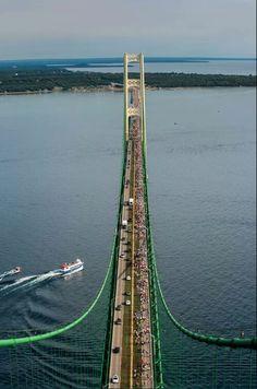 Bridge walk, Pure Michigan