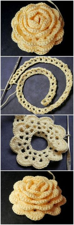 Crochet Rose – Pattern