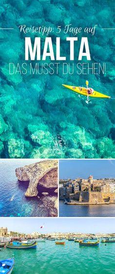 Malta in 5 days: 15 great travel tips and highlights for .- Malta in 5 days: 15 great travel tips and highlights for your Malta trip - Road Trip Packing, Packing Tips For Travel, Us Travel, Packing Lists, Europe Destinations, Bangkok, Koh Lanta Thailand, Dubai Travel Guide, Travel Advisory