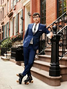 John Oliver in GQ. Photograph by Peter Yang