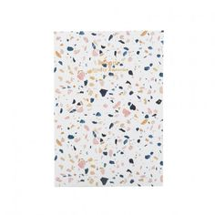 Wouf - White Terrazzo - Notebook A5