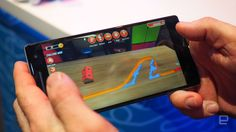 This Tango game offers all the fun of building courses and racing without any cars flying at your face.