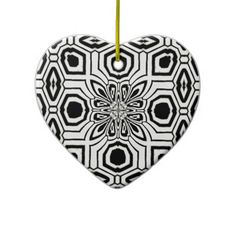 SOLD! thanks to my customer who purchased 1 Batik Ethnic Tribal Inspiration Christmas Ornament
