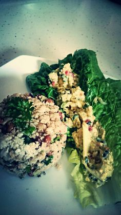 Raw Vegan Rice and Peas with ackee and seaweed