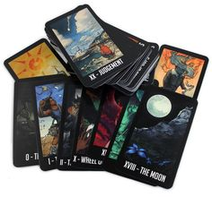 Welcome to Nightvale Tarot Cards ... things I super need!