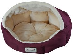 Armarkat Cat Bed 18Inch Long C08HJHMH Burgundy and Beige by Armarkat ** Click on the image for additional details.-It is an affiliate link to Amazon. #CatBeds