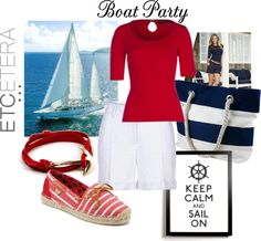 """""""Etcetera Spring 2013 - Boat Party"""" by etcetera-nyc on Polyvore"""
