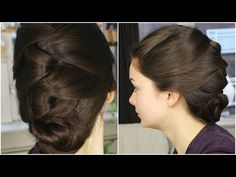M The Wrapped Updo - YouTube
