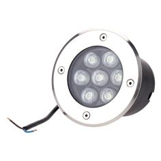 7w led outdoor ground garden path floor underground buried yard lamp spot landscape light ip67 waterproof
