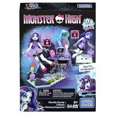 Mega Bloks Monster High Ghostly Gossip Building Set