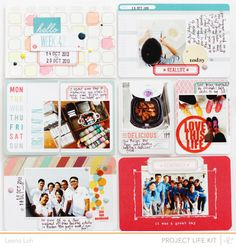 Project Life | Week 42 *Blue Note PL Kit* by findingnana at @Studio_Calico