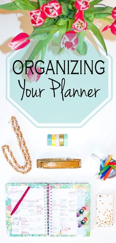 How to organize your planner // Stylish Sassy and Classy