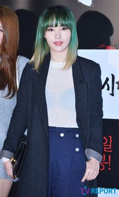 4Minute JiYoon Kpop Hair Color, Korean Idols, Fashion, Moda, Fashion Styles, Fashion Illustrations
